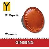 Yespresso Capsule Compatibili Lavazza a Modo Mio Ginseng - Confezione da 30 Pezzi