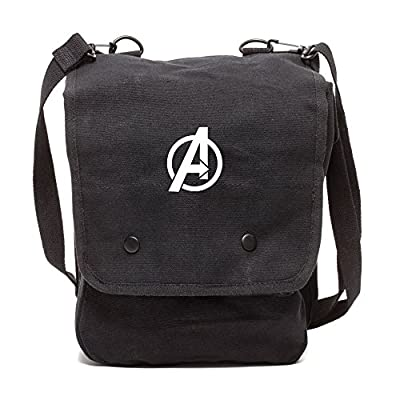 026bbef88f01 high-quality Marvel Superheroes The Avengers Logo Canvas Military ...
