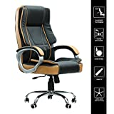 Green Soul Vienna Big & Tall Premium Finish Manager, Boss, Executive Office Chair (Black & Tan) (+3 Colors)