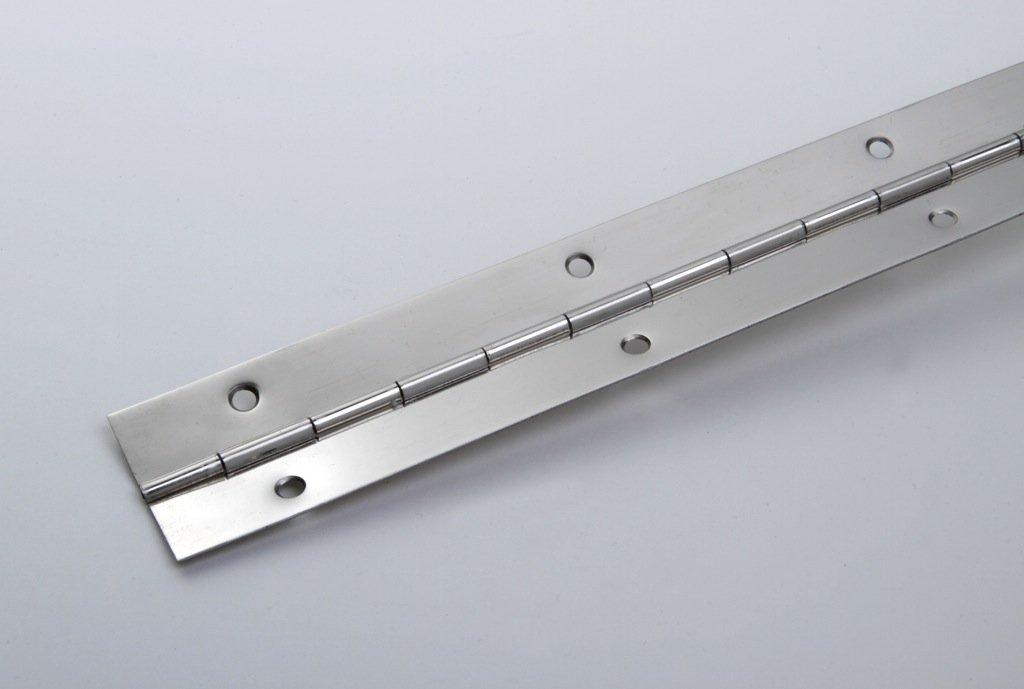 Bisagra continua (metal niquelado, 32 x 0,7 x 1000 mm) young schwinn DESIGN GmbH