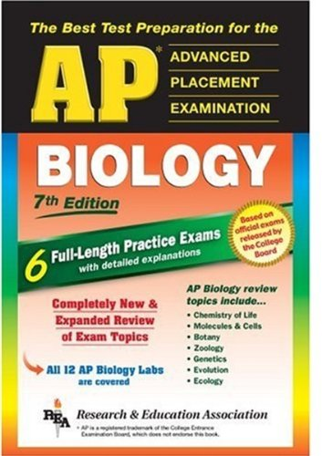 AP Biology (REA) - The Best Test Prep for the AP Exam: 7th Edition (Test Preps)