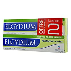 Elgydium Decay Protection Toothpaste Lot 2x75ml