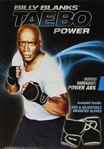 Billy Blanks: Tae Bo Power w/ Weighted Gloves Kit (Power Starz Dvd)