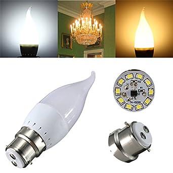 B22 Led Bulbs - Chandelier Light Bulbs Candelabra Bulb Candle Bent ...