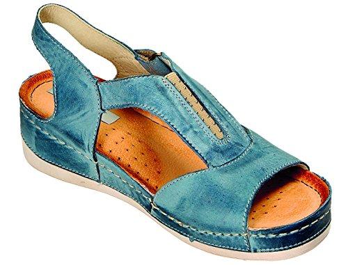Miccos Donna Jeans Miccos Donna Zoccoli Blu Jeans Blu Zoccoli IfSOYxx