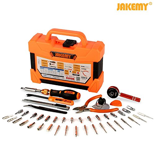 Jakemy 1/4-Inch Dual Drive Ratcheting Screwdriver Set  , Mag
