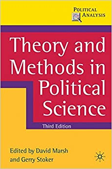 Book Theory and Methods in Political Science: Third Edition (Political Analysis)