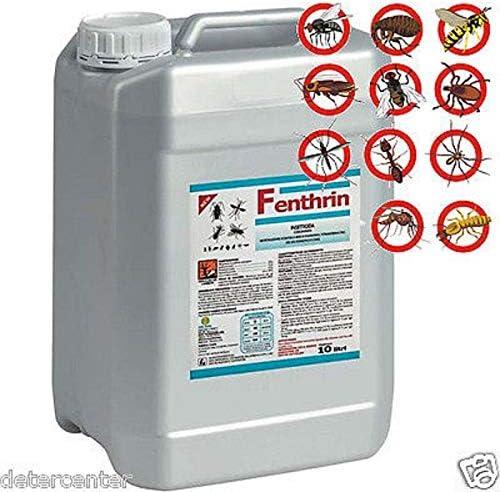 FENTHRIN - Orma 2 x 5 l Insecticida concentrado ETOFENPROX TETRAMETRINA PIPERINOL Etofenprox 3,0%, Tetrametrina 2,5%, PBO 6,0%