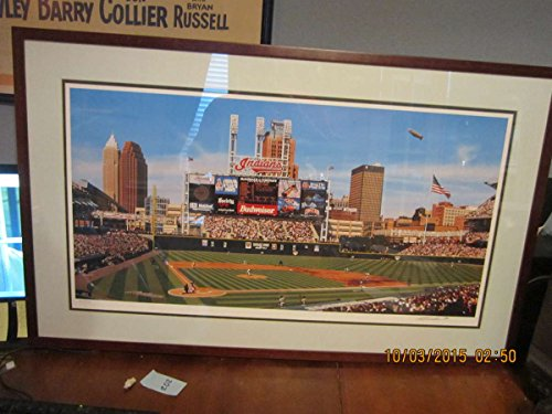 1994 Jacobs Field Cleveland Indians large Stadium print ()