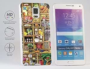 Funda Carcasa dura para Samsung Galaxy Note 4 - Cosas