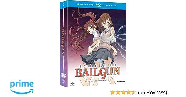 Amazon com: A Certain Scientific Railgun: Season 1 [Blu-ray