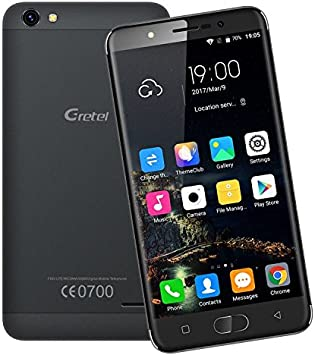 GRETEL A9 Teléfonos MóvilesLibres 4G, Smartphone de 5 pulgadas 720 ...