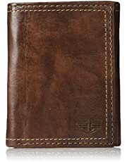 Dockers 2019 Mens Rfid Security Blocking Extra Capacity Trifold Wallet, 12 cm