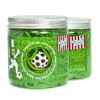Der essbare Fußballrasen - 150g Süßigkeitendose mit feinsten...