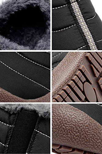 CIOR-Men-and-Women-Snow-Boots-Fur-Lined-Winter-Outdoor-Slip-on-Shoes-Ankle-Boots