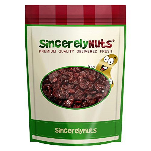 Sincerely Nuts Dried Cranberries Sweetened - Two Lb. Bag –Top Quality Cranberries - Perfectly Dried - Antioxidant Rich, Exceptionally Fresh – Kosher Certified (Sweetened Dried Cranberries)