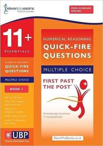 11+ Essentials Numerical Reasoning for CEM: Quick-Fire