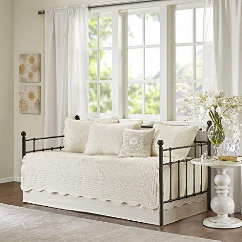 Madison Park Tuscany 6 Piece Daybed Set Ivory Daybed (Renewed)