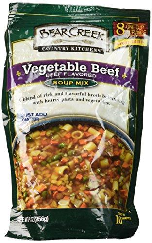 Bear Creek Mix Soup Vegetable Beef, 9 oz ()