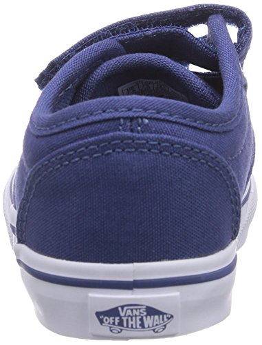 Vans ATWOOD V - zapatilla deportiva de lona infantil azul - Blau ((Canvas) stv na F9N)