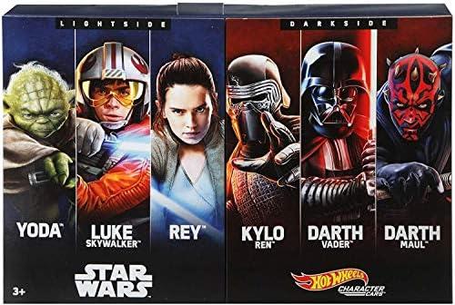 [해외]Mattel Hot Wheels Star Wars 장난감 차 / Hot Wheels Star Wars Amazon 6-Pack Character Cars