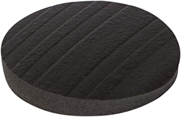 Stay Furniture Pads Round Furniture Grippers Gripper Pads Furniture Pads For Hardwood Floors And Carpet Anti Slip Black Set Of 4 2 Inch Home And Garden Products Amazon Com