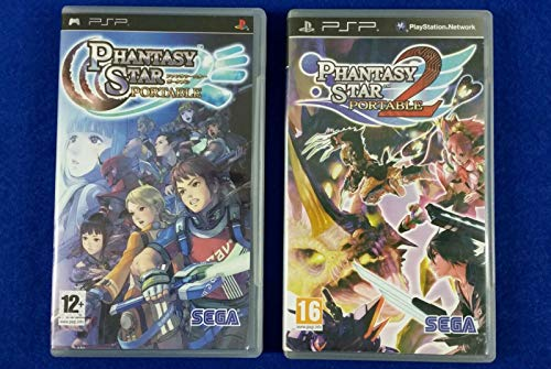Phantasy Star Portable x2 Games 1 + 2 Online Multiplayers PAL English REGION FREE - Sony PSP (Phantasy Star Portable 2)
