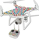MightySkins Skin for DJI Phantom 4 Quadcopter Drone – Color Bugs | Protective, Durable, and Unique Vinyl Decal wrap Cover | Easy to Apply, Remove, and Change Styles | Made in The USA