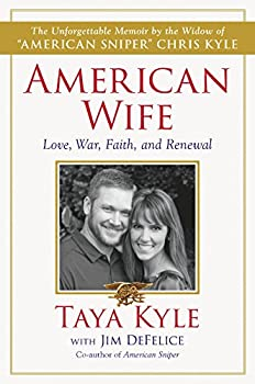 American Wife: Love, War, Faith, and Renewal 0062398091 Book Cover