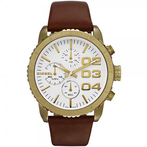 (Diesel Quartz Analog White Dial Men's Watch - DZ5328)