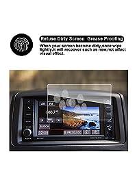 2017 2018 Dodge Grand Caravan Pantalla táctil de 6.5 pulgadas Protector de pantalla de navegación para automóvil Pantalla de automóvil, RUIYA HD Borrar CRISTAL TEMPERADO Película para el tablero de instrumentos en el tablero