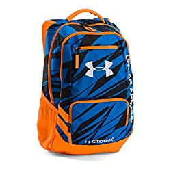Under Armour Hustle II Backpack, Blue Jet, One Size