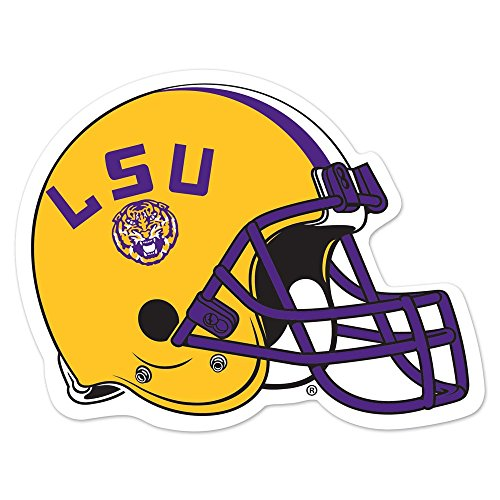 (WinCraft NCAA Louisiana State University 83155014 Die Cut Magnet, Small, Black)