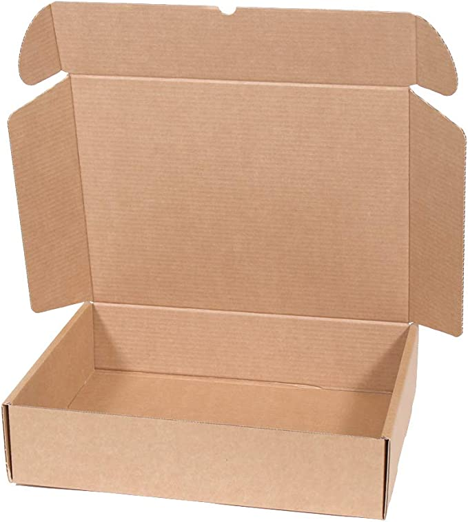 Kartox | Caja de Cartón Kraft Para Envío Postal | Caja de Cartón Automático para Envío o Almacenaje | Talla XL | 42 X 30 X 10 | 20 Unidades: Amazon.es: Oficina y papelería