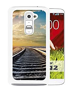New Beautiful Custom Designed Cover Case For LG G2 With Rail Road (2) Phone Case