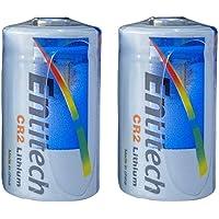 Entitech CR2 3V Lithium Battery, Compatible with Electric Dog Fence Collars, Hunting/Golf Rangefinder, Laser Boresighter…
