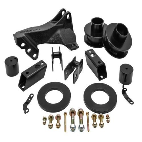 "ReadyLift 66-2726 2.5"" Leveling Kit With Track Bar Relocation Bracket For F250/F350/F450 Ford, 2011-2018"