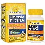Renew Life Buddy Bear Probiotic, Sun-Kissed Orange Flavor, 60-Count