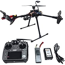 QWinOut RTF Kit:HMF Y600 Tricopter 3 Axis Copter Frame Kit + APM 2.8 Multicopter Flight Controller+Motor + ESC