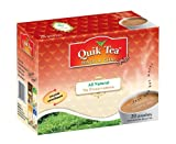 QuikTea All Natural Masala Chai, Masala Spiced, 480 g (20 Pouches)