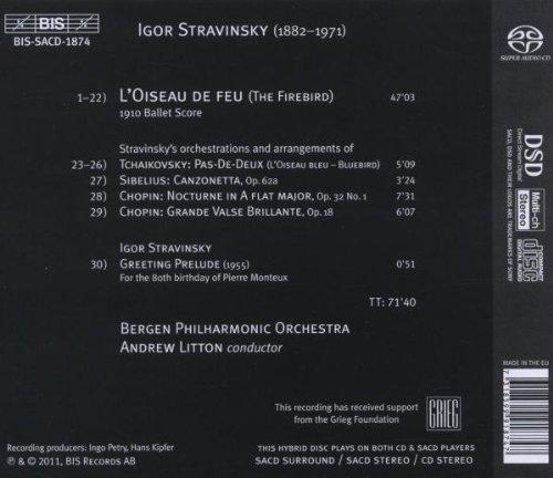 Stravinsky the firebird greeting prelude bis bissacd1874 stravinsky the firebird greeting prelude bis bissacd1874 amazon music m4hsunfo