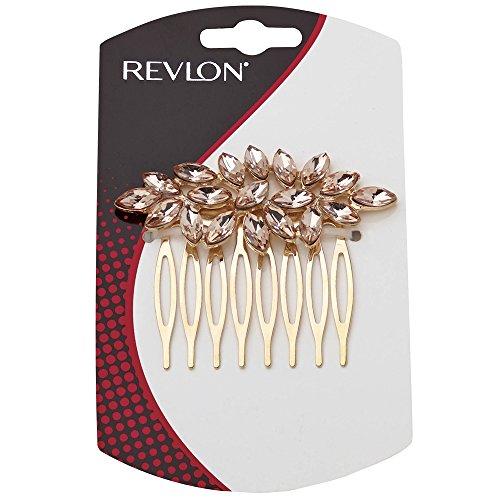 Revlon Antique Comb Amber Rv3037