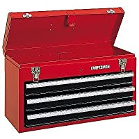 Craftsman 3 Drawer Portable Tool Chest (Red)