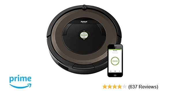 Amazon.com: iRobot Roomba 890 Robot Vacuum- Wi-Fi Connected, Works with Alexa, Ideal for Pet Hair, Carpets, Hard Floors: Home & Kitchen