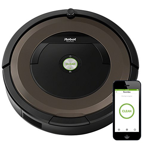 iRobot Roomba 890 Robot Vacuum- Wi-Fi Connected, Works with Alexa,  Ideal for Pet Hair, Carpets, Hard Floors ()