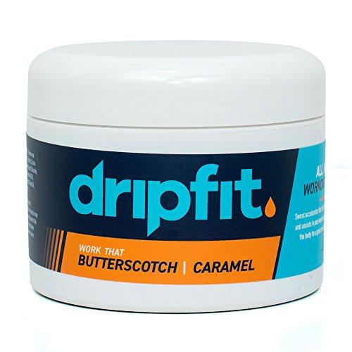 Drip Collage (Drip Fit Cream (8oz) - 100% Natural Sweat Intensifier (Butterscotch))