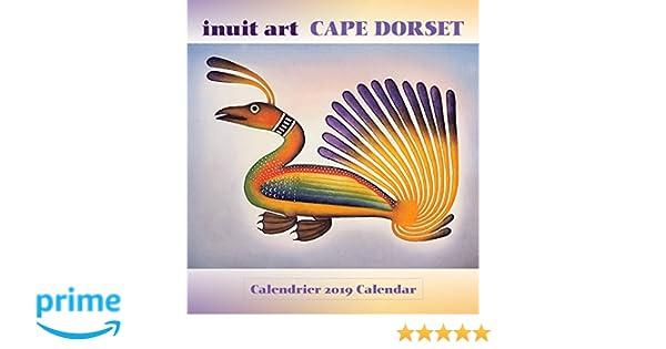 a7b8b09803e Inuit Art  Cape Dorset 2019 Mini Wall Calendar (English and French  Edition)  Cape Dorset