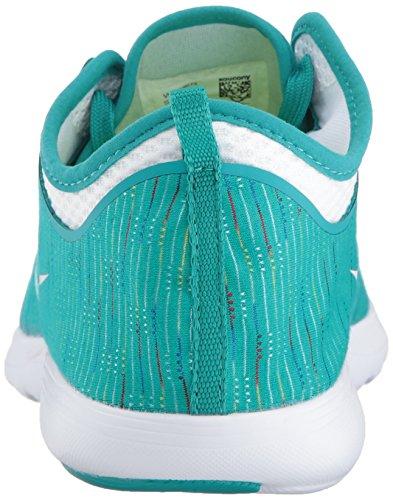 Saucony Donna Eros Sneaker Verde Acqua Multi