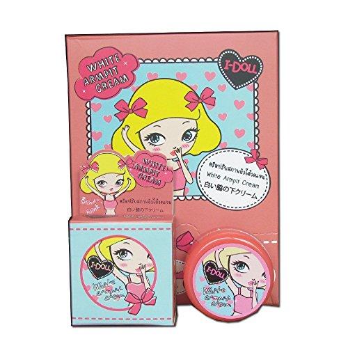I-doll blanc crème aisselle - aisselles / fesses / jambe / genou / coude et rose mamelon 5gm