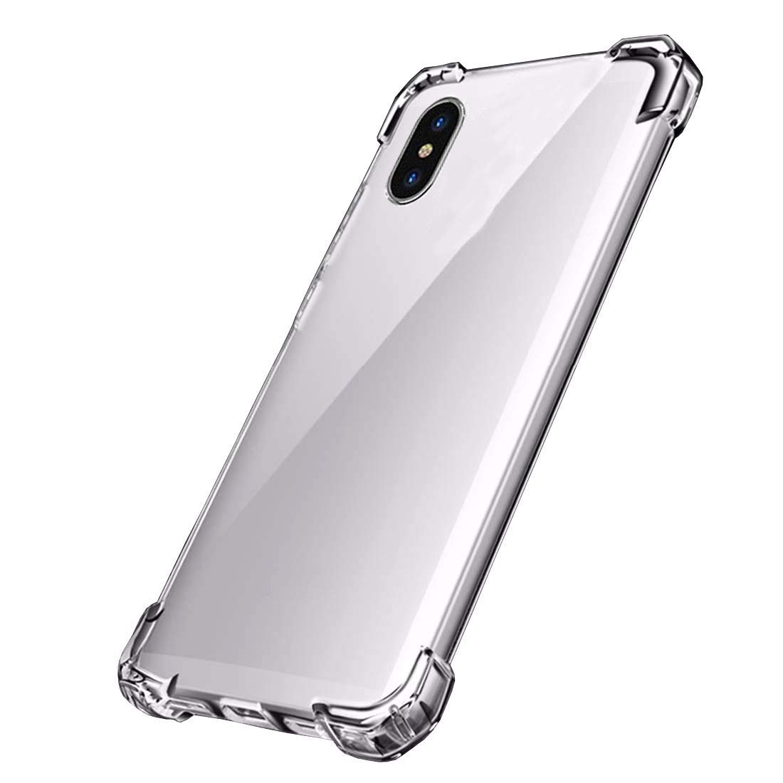 designer fashion 9ed5d d4919 Tverghvad Premium Crystal Clear iPhone Xs Max Case, [Anti-Shock] Slim  Flexible TPU Bumper Hard Shell Protective Cover Case Compatible with iPhone  Xs ...
